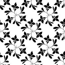 black and white floral wallpaper pattern. Delighful And Seamless Black And White Floral Wallpaper Royalty Free Cliparts Vectors  Stock Illustration Image 6707995 Inside Pattern M