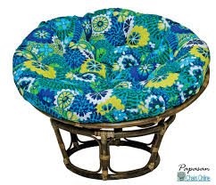 outdoor chair cushions online australia. single papasan chair with green floral solid fabric cushion ideas outdoor cushions online australia