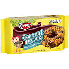 keebler cookies fudge stripes. Fine Fudge Keebler Fudge Stripes Cookies Coconut Dreams Flavors Of Fudge Caramel  And Coconut For Cookies N