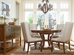 Round Kitchen Table For 4 Round Glass Dining Table Set For 4 Eydon Clear Glass Dining Table