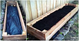 now simply add dirt and the fruit veggies flowers of your choice we had quite a bit of fun planting our first garden together for this project and it is a
