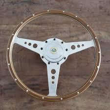 genuine original moto lita 15 inch 38cm lotus wooden steering wheel flat