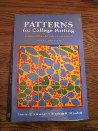 Patterns For College Writing Pdf Extraordinary BDSCALEXTRIC