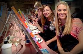 enjoy being guided in creating a painting by the experts from vino van gogh their teaching artist will give you the gui to ensure success