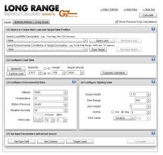 G7 Ballistics Long Range Calculator I Ballistics Com