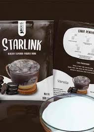 Takımyıldızı, yer istasyonları ile birlikte çalışacak ve seri olarak. Bubuk Minuman Vanilla Starlink Kemasan 1000 Gr Tangerang