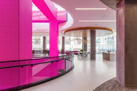 t mobile signature in san francisco view of led pillars and glass front