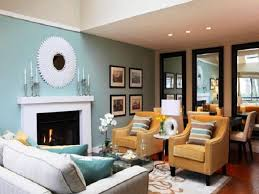 ... Living Room, Living Room Color Schemes With Yellow Sofa And Fireplace  And Cushion: amazing ...