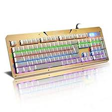 Buy MANDIR Mechanical Keyboard Gaming Wired RGB ... - Amazon.in