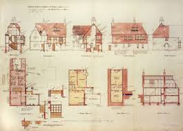 architectural drawings of houses. Orthographic- The Red House Architectural Drawings Of Houses