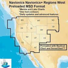 Navionics Navionics Regions West Marine Lake Charts Waters Of Puget Sound 821245977076 Ebay