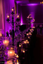 halloween party lighting. a very classy halloween wedding i adore the purple lighting party r