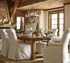Dining room:Christmas Wonderful Traditional Furnishing Chic Elegant Wood  Architectural Pottery Barn Dining Room Lighting