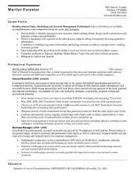 100 Senior Account Manager Resume Example Quick Resume