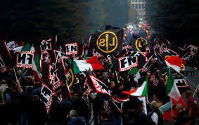Italy's Senate urges govt to ban neofascist party Forza Nuova