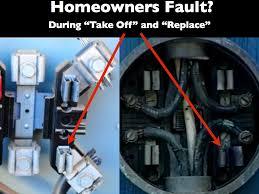 the microwave factor smart meter fires part 1 electric meter socket lugs at Bad Electric Meter Wiring