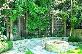 outdoor privacy screen ideas nice diy deck metal screens