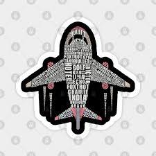 Nato alphabet or nato spelling alphabet. Aviation Phonetic Alphabet Flying Pilot Aviation Phonetic Alphabet Flying Pilot Magnet Teepublic