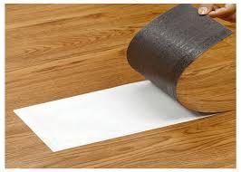 easy installation self adhesive vinyl floor tiles kitchen fireproof scratch resistant