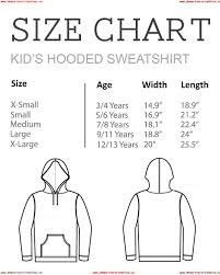 Champion Sweatshirt Youth Size Chart