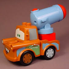 Lego Duplo Disney Pixar Cars Agent Mater Tow Truck With Cannon That ...