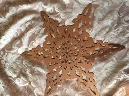new year large copper metal wall