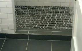 fashionable inspiration shower floor tile options pan for drain repair clean sophisticated
