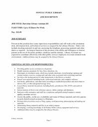 Library Job Cover Letter Resume Templates Design Assistant Tem