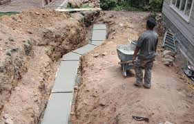 retaining walls hold back the pressure