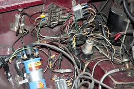 1974 mgb engine turns over wont start serious wiring issue Basic Electrical Wiring Diagrams Silver Ridge Wiring Diagram wiring nightmare jpg