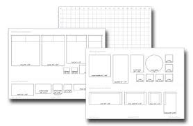 Printable Graph Paper For Room Layout Floor Plan Grid Template