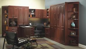 custom home office furnit. custom park avenue style murphy bed and home office furnit f