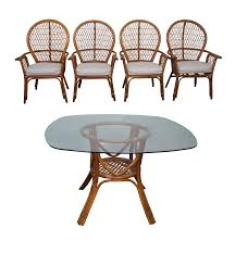 rattan and glass dining table maggieepage com wicker dining room table with glass top