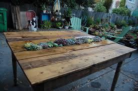 diy garden furniture ideas. diy pallet succulent table diy garden furniture ideas
