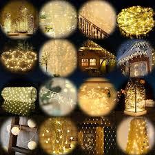 Led Lichterkette Warmweiss Lichtervorhang Weihnachten