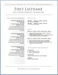 Templates For Resumes Fr Simple Resume Format Word Download Free