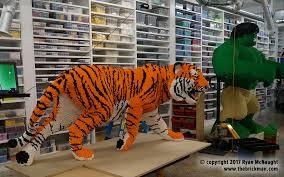 LEGO Store Dreamworld models