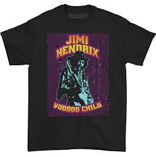 Black Light T Shirts Clothing Amazon Com Jimi Hendrix Mens Hendrix Black Light T Shirt