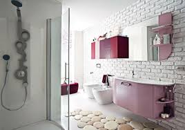 ... kitchen-bathroom-beautiful-pink-bathroom-decoration-using-modern- ...