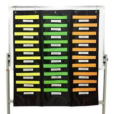 Chair Storage Pocket Chart 30 Pockets Wall Hanging File Folders Organization Center Pocket Chart For Office Buy Organization Center Pocket Chart Wall Hanging File
