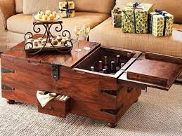 trunk coffee tables for your comfortable living room throughout table storage plans 11