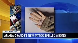Ariana Grandes New Japanese Tattoo Has Crucial Typo