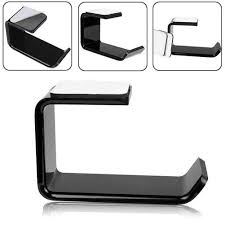 Sticker <b>Acrylic Headphone Bracket Wall</b> Mounted Headset Holder ...