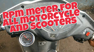 how to install tachometer rpm meter on motorcycle s and scooters how to install tachometer rpm meter on motorcycle s and scooters honda activa 3g