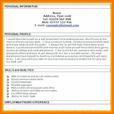 What Is Resume Profile 12 13 Personal Profiles On Resumes Mysafetgloves Com
