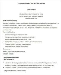business admin resume bachelor business administration resume sample accountant