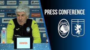 22ª Serie A TIM Atalanta-Genoa | La conferenza stampa di Gian Piero  Gasperini