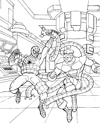 Small Picture spiderman fighting venom coloring pages spiderman vs venom free