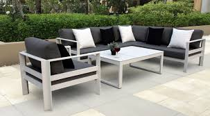 AB Modern Collections Cast Aluminum Patio Furniture Outdoor