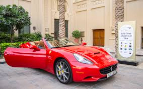 ferrari cars in dubai